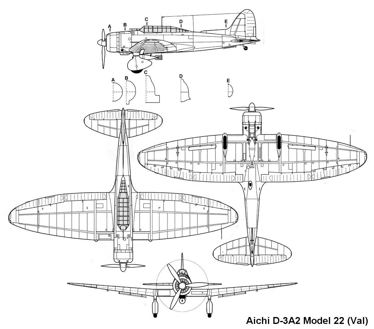 Aichi D3a Type 99 Val Info
