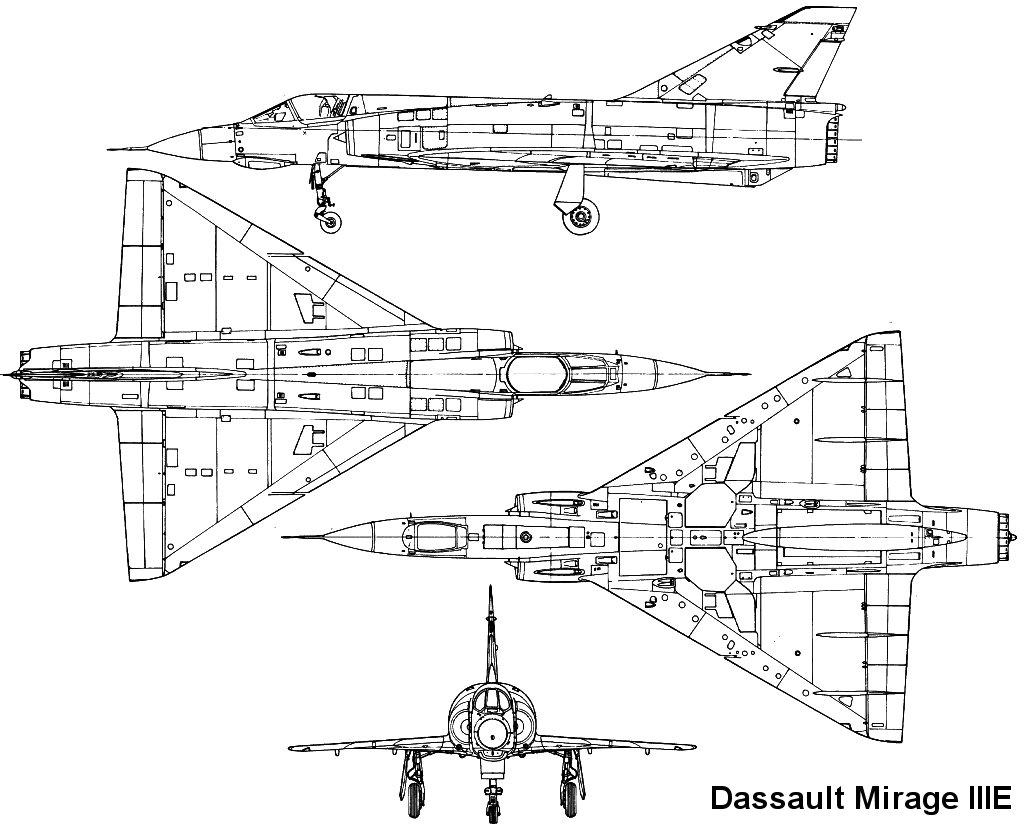 Mirage Iii Diagram
