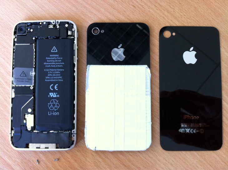 iPhone 4 Glass Replacement (Rear) (3/3)