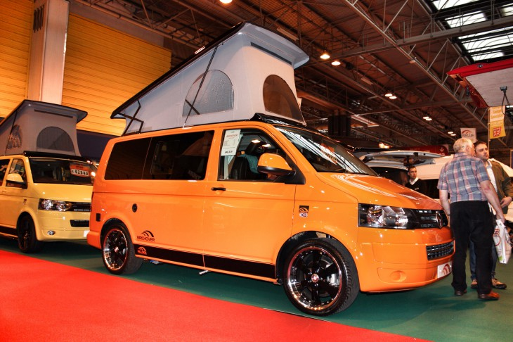 Motorhome and Caravan Show 2014 (1/6)