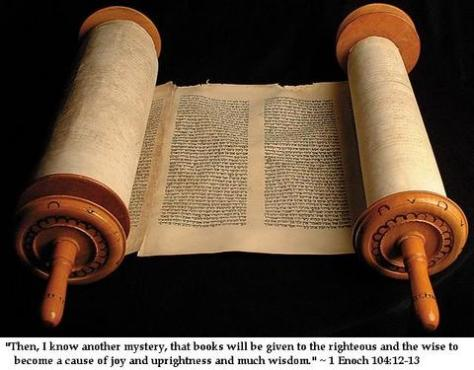 Ancient scroll of the Book of Enoch