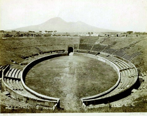 A Roman amphitheater  - Paul trained himself as an athlete