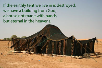 Our earthly tent - body and brain
