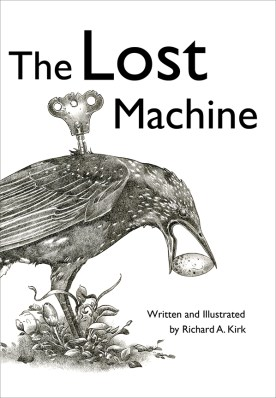 The Lost Machine, Cover Art, Richard A. Kirk, 2010, Radiolaria Studios