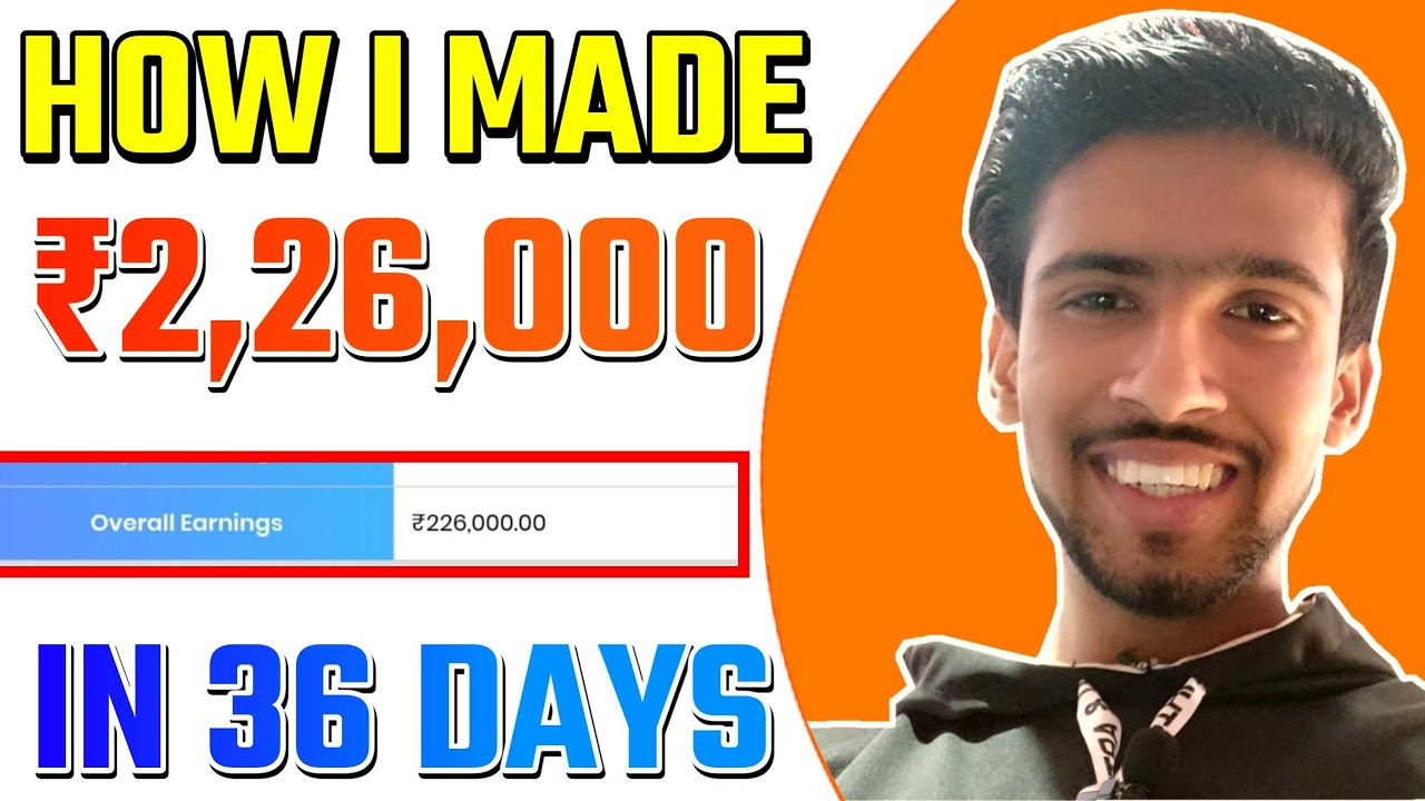 How I'm making 1,50,000 INR Per Month From Affiliate Marketing?😮😎