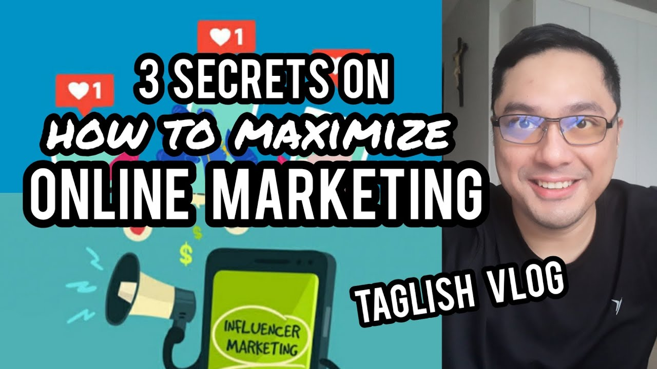 HOW TO BOOST ONLINE MARKETING 3 Proven Secrets Revealed! by Filipino YouTuber Business VLOG