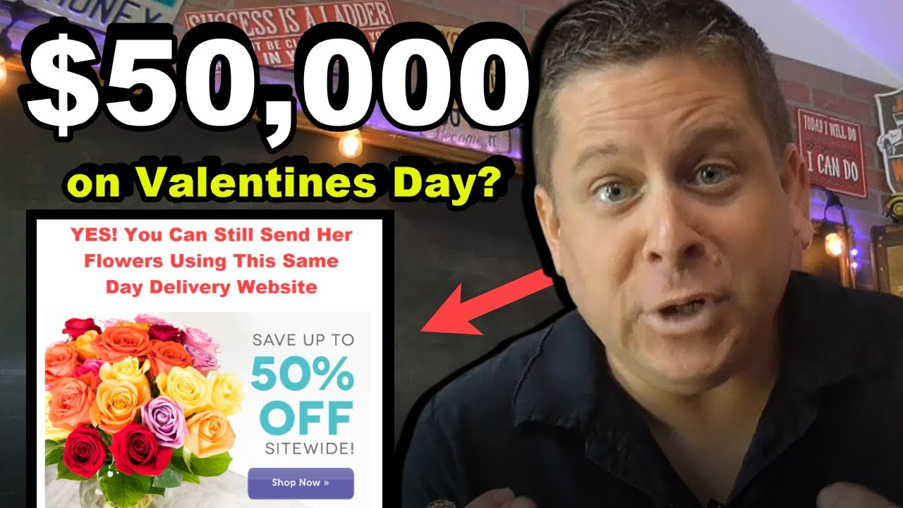 $50,000 On Valentines Day Giving Away E Cards With Affiliate Marketing?