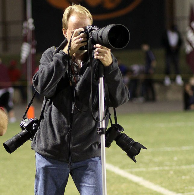 You will see photojournalists all over the world work with this combination of lenses and cameras: a wide angle, a fast medium-length telephoto, and a supertelephoto for sports.