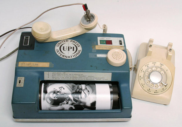 Not only was the interface awkward and the send time long, you had to call New York or Washington and try to get a time when they could receive your image, which meant waiting hours sometimes.