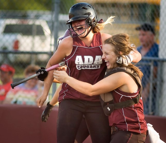 Sports: Softball Celebration