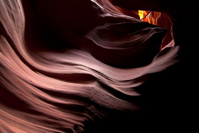 I have a 13x19 inch print of this image of Arizona's Antelope Canyon hanging in my office. Made with the 2006-era technology of Nikon's D80, the image quality, even printed this big, is astonishing.