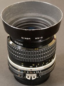 I bought my first 35mm lens, the venerable Nikkor f/2.0, in 1987. I later sold it to modernize, but sometimes miss its build and feel.