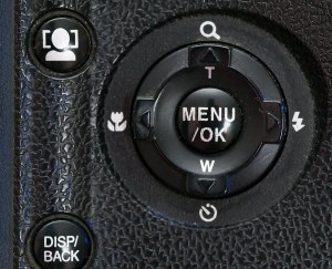 "When the ""left"" selector stopped working on the S200EXR, I could no longer access the setup menu or the macro feature."