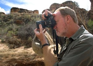 Your host uses the camera in this article, the Fujifilm S200EXR, in March 2011, in Canyonlands National Park, Utah.