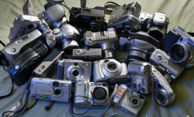 Here are $5000 worth of digital cameras reduced to a $10 Ebay grab.