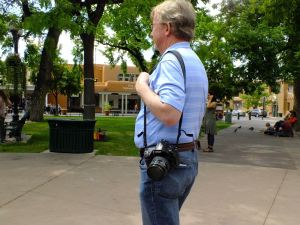 I saw this D700 in use on The Plaza in Santa Fe when Abby and I were there recently.