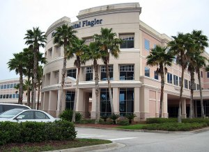 This is Florida Hospital Flagler, where Dad died.