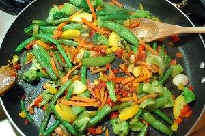 My stir-fry