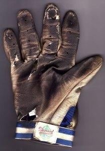 My used-up batting glove