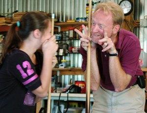 Explaining Bunnies to Teddy, 2008