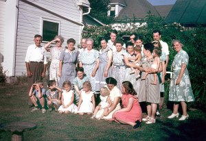 The Perkins Family, circa 1950.