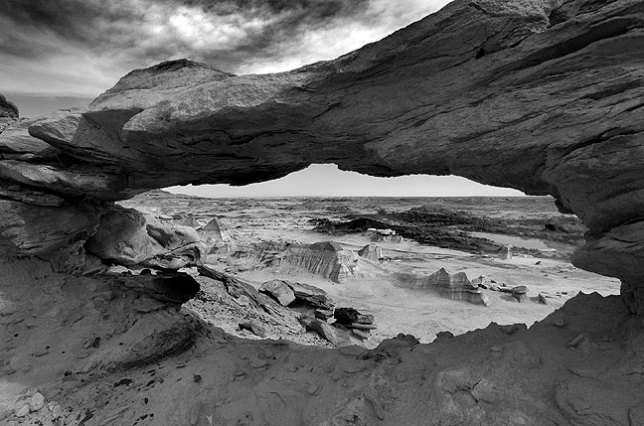 The Bisti Wilderness is a large area of badlands in the high desert of northwestern New Mexico. I have been there twice, both for short periods of time.