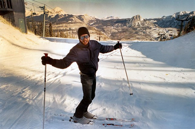 This is the picture Scott shot of me skiing at Purgatory. As far as I know, it is the only image from that trip.