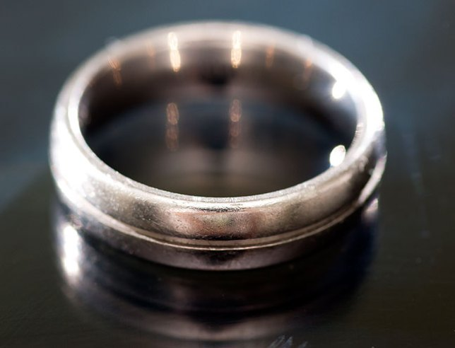 My titanium wedding ring; strong, lightweight, elegant. It is the most important thing I put on every day.