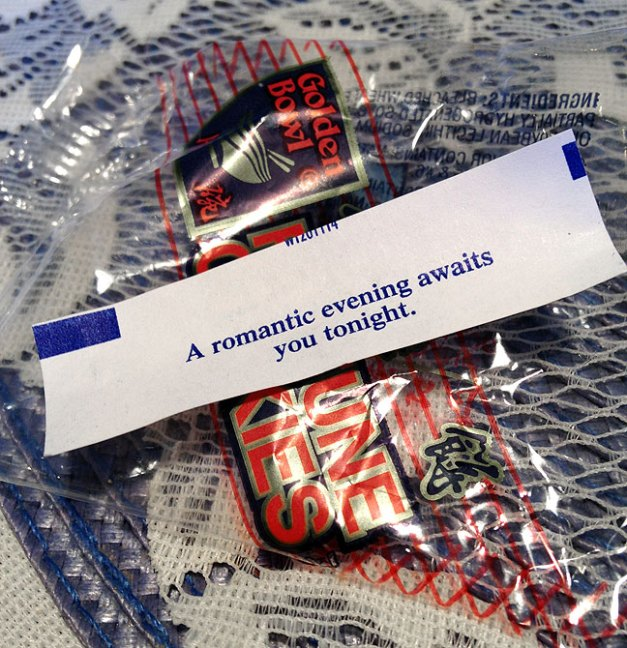 This was Abby's fortune, and it was correct.