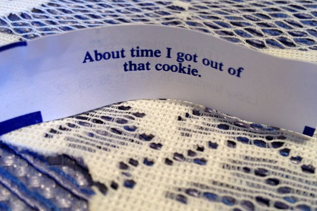 Abby's sister Gail got this fortune.