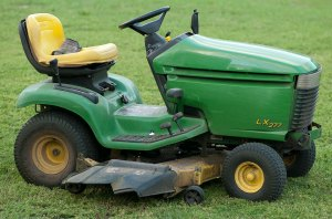 I have had this John Deere lawn tractor for ten years now. We certainly have cut a lot of grass together.