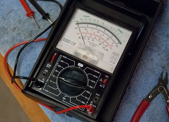 At the center of most of my electronic endeavors at the bench in the garage is my 30-year-old Micronta multimeter, which works perfectly to this day.