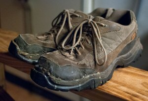 Goodbye LL Bean hiking shoes. I had great times wearing you.