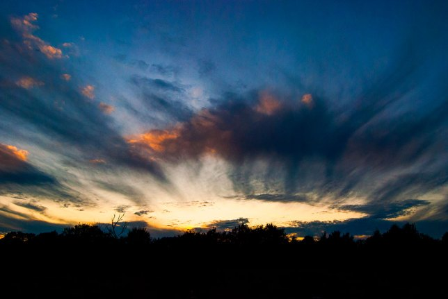 I love the Oklahoma sky, as in this image from earlier this month.