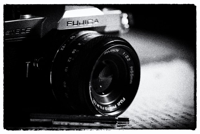 I already had my first camera, a Yashica GSN Electro 35, and this Fuji ST-605n before I started my journal in tenth grade. Despite a lifelong motivation to write, I am a better photographer than write by a wide margin.