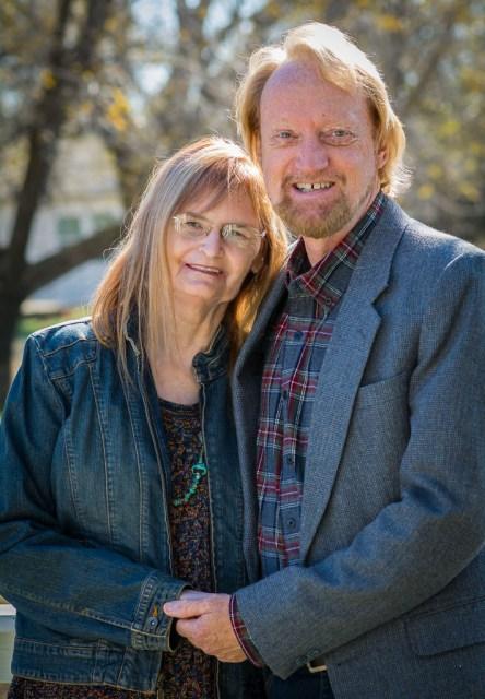 Richard R. Barron and Abby S. M. Barron, November 2018