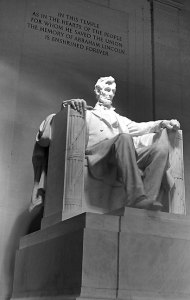 The Lincoln Memorial, Washington, D. C