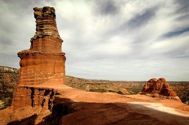 The Lighthouse, Palo Duro Canyon