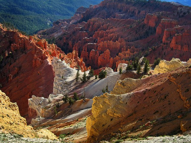 Lavendar Canyon from North View, Cedar Breaks.