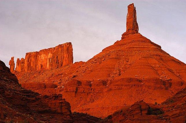 Castleton Tower, Castle Valley, Moab, Utah