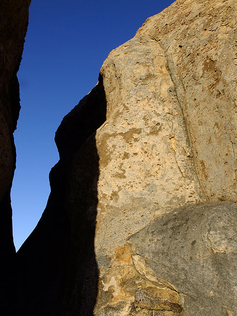 Stone and sky, late afternoon, City of Rocks.