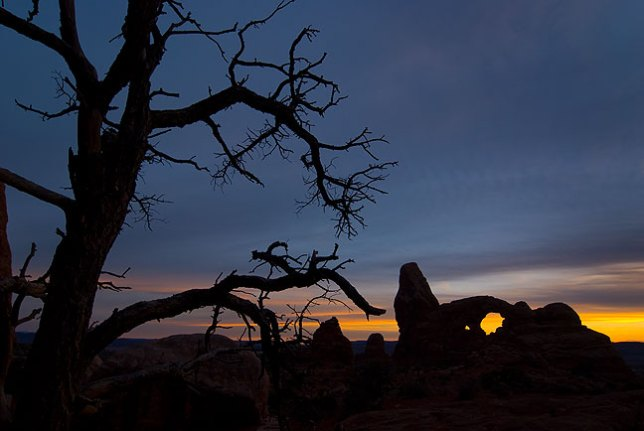 Tree and Turret Arch, Arches National Park