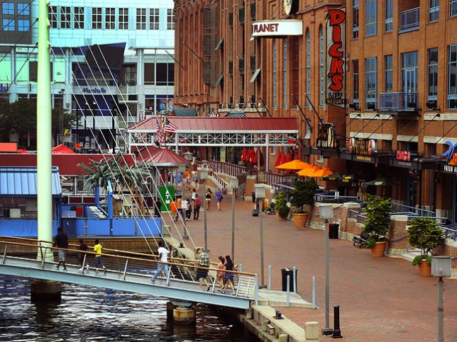 "Baltimore's Inner Harbor area is visually complex, and on my ""go back"" list."
