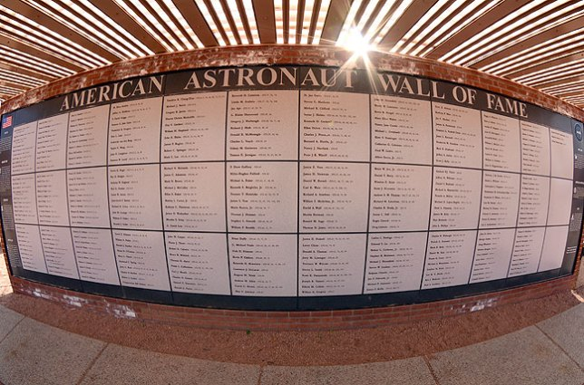 Meteor Crater also features an astronaut wall of fame, since the site was used by NASA to train some astronauts for walking on the moon.