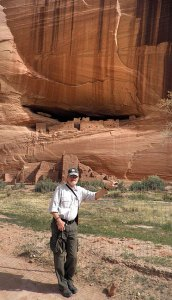 An Australian man did the honor of photographing me at Canyon de Chelly.