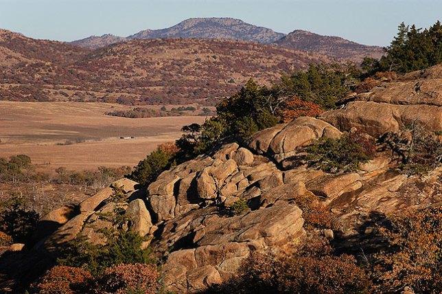 Mount Scott Viewed from Elk Mountain Trail
