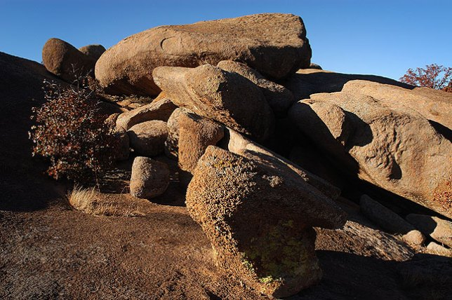 Granite Boulders Near Sitting Rock