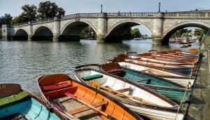 richmond, bridge, london