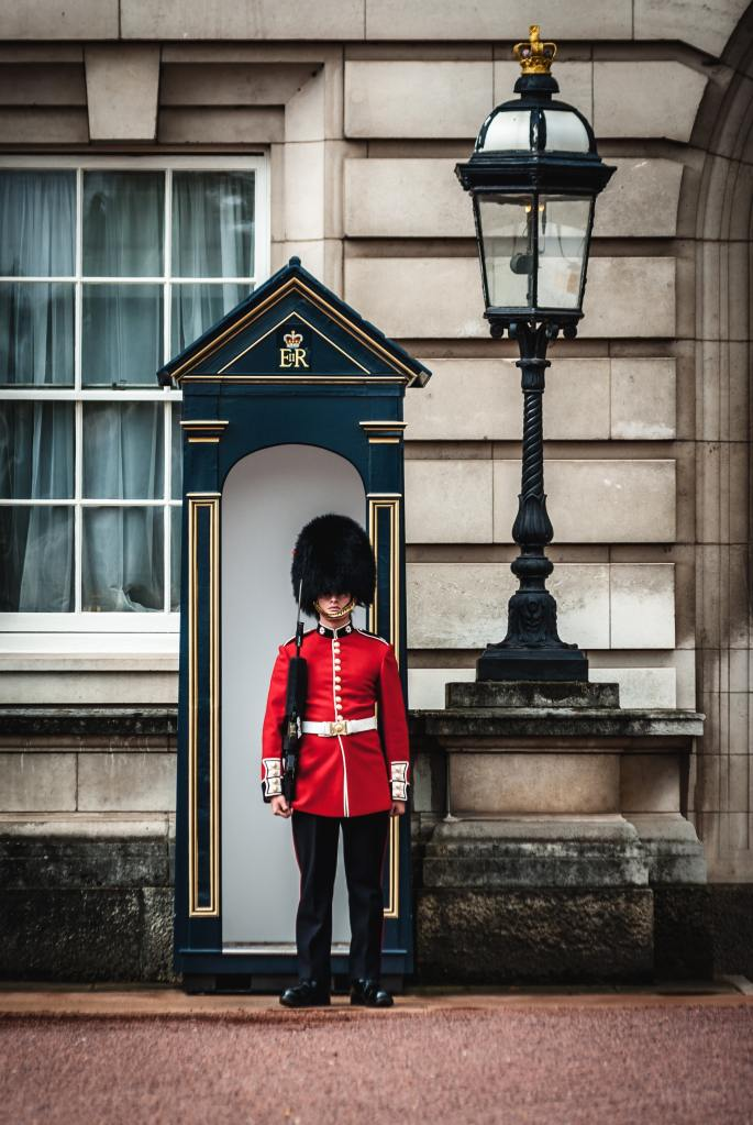 Royal guard London