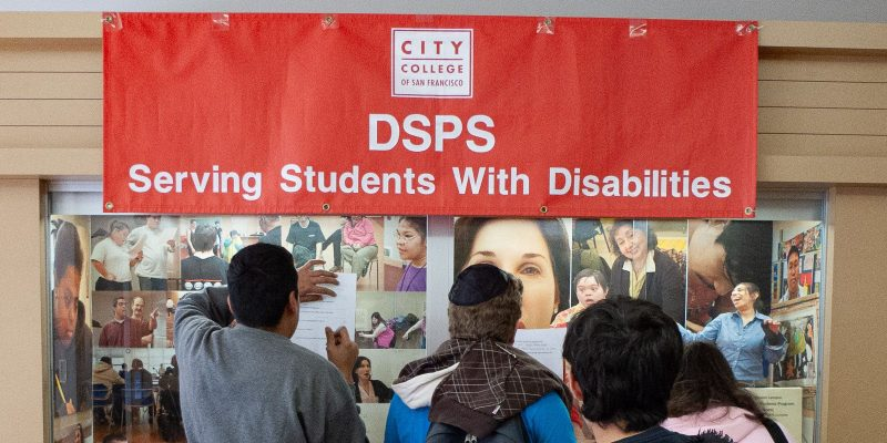 Banner Serving Students with disabilities